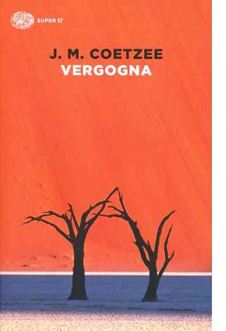 "La copertina del libro ""Vergogna"" di J. M. Coetzee (Einaudi)"