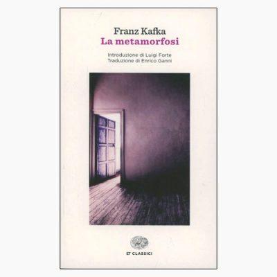 "La copertina del libro ""La metamorfosi"" di Franz Kafka (Einaudi)"