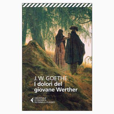"""La copertina del libro """"I dolori del giovane Werther"""" di Johann Wolfgang von Goethe (Feltrinelli)"""