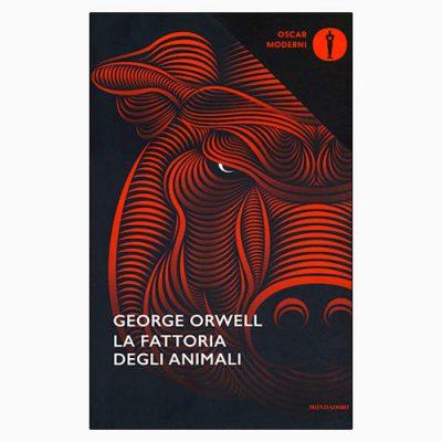 """La copertina del libro """"La fattoria degli animali"""" di George Orwell (Mondadori)"""