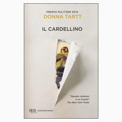 """La copertina del libro """"Il cardellino"""" di Donna Tartt (BUR Rizzoli)"""