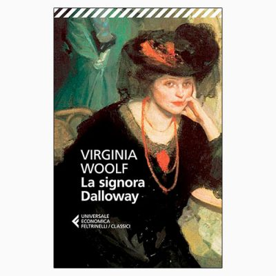 "La copertina del libro ""La signora Dalloway"" di Virginia Woolf (Feltrinelli)"