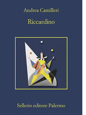 """La copertina del libro """"Riccardino"""" di Andrea Camilleri (Sellerio Editore)"""