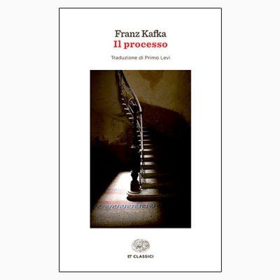 """La copertina del libro """"Il processo"""" di Franz Kafka (Einaudi)"""
