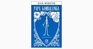 """La copertina del libro """"Papà Gambalunga"""" di Jean Webster (Caravaggio Editore)"""