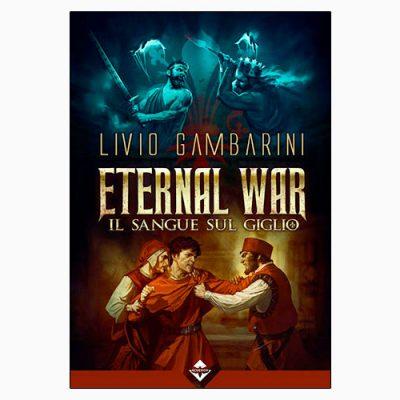 """La copertina del libro """"il sangue sul giglio"""" di Livio Gambarini (Acheron Books)"""