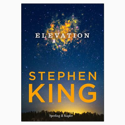 "La copertina del libro ""Elevation"" di Stephen King (Sperling & Kupfer)"