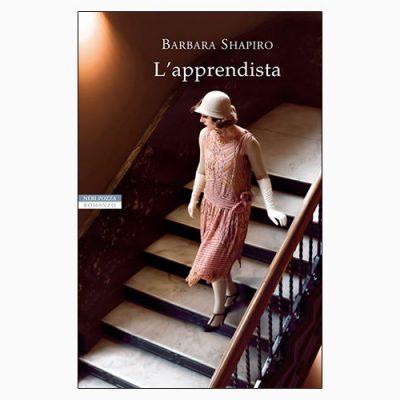 """LA copertina del libro """"L'apprendista"""" di Barbara Shapiro (Neri Pozza)"""