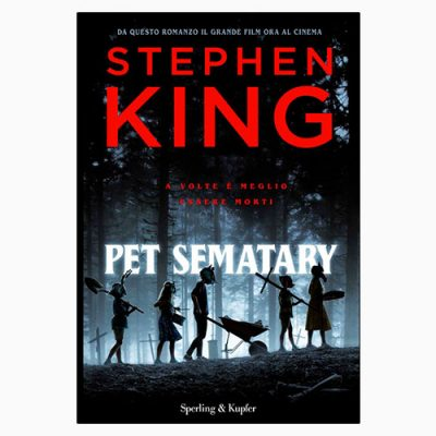 "La copertina del libro ""Pet Sematary"" di Stephen King (Sperling & Kupfer)"