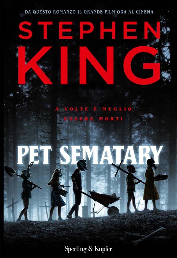 """La copertina del libro """"Pet Sematary"""" di Stephen King (Sperling & kupfer)"""