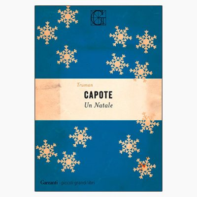 """La copertina del libro """"Un Natale"""" di Truman Capote (Garzanti)"""