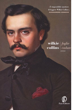 """La copertina del libro """"Foglie cadute"""" di Wikie Collins (Fazi Editore)"""