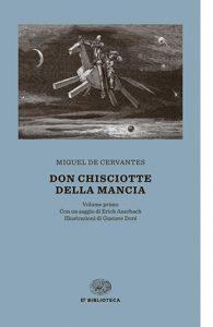 """La copertina del libro """"Don Chisciotte della Mancia"""" di Miguel De Cervantes (Einaudi)"""