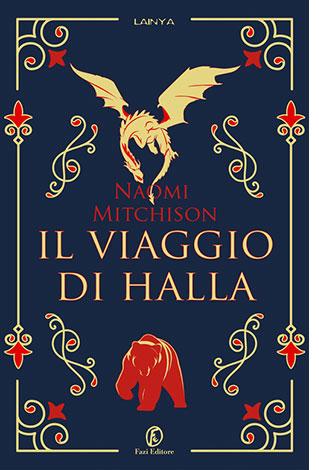 """La copertina del libro """"Il viaggio di Halla"""" di Naomi Mitchison (Fazi Editore)"""