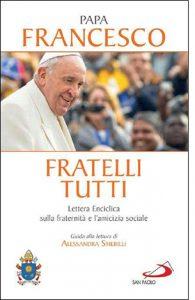 """La copertina del libro """"Fratelli tutti"""" di Papa Francesco (San Paolo Edizioni)"""