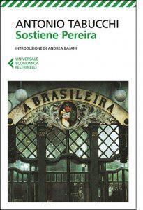 """La copertina del libro """"Sostiene Pereira"""" di Antonio Tabucchi (Feltrinelli)"""