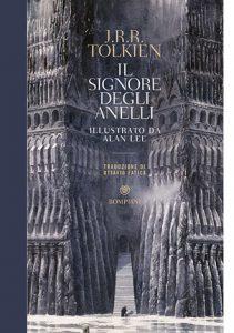"""La copertina del libro """"Il signore degli anelli"""" di J. R. R. Tolkien (Bompiani)"""