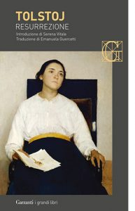 """La copertina del libro """"Resurrezione"""" di Lev Tolstoj (Garzanti)"""