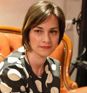La scrittrice Giulia Fagiolino