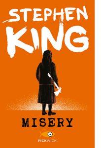 "La copertina di ""Misery"" di Stephen King (Sperling & Kupfer)"