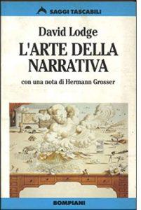 """La copertina del libro """"L'arte della narrativa"""" di David Lodge (Bompiani)"""