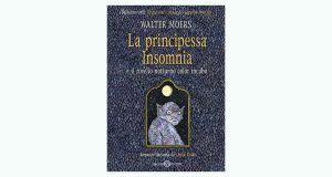 """La copertina del libro """"La principessa Insomnia e il rovello notturno color incubo"""" di Walter Moers (Salani)"""