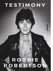 "La copertina ""Testimony"" di Robbie Robertson (Jimenez Edizioni)"