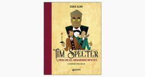 """La copertina del libro """"Il problema del maggiordomo impiccato"""" di George Bloom (Giunti)"""