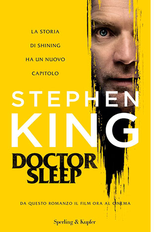 """La copertina del libro """"Doctor Sleep"""" di Stephen King (Sperling & Kupfer)"""