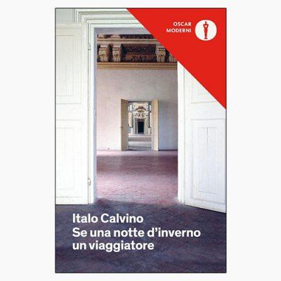 """La copertina del libro """"Se una notte d'inverno un viaggiatore"""" di Italo Calvino (Mondadori)"""