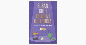 """La copertina del libro """"Esercizi di fiducia"""" di Susan Choi (Edizioni Sur)"""