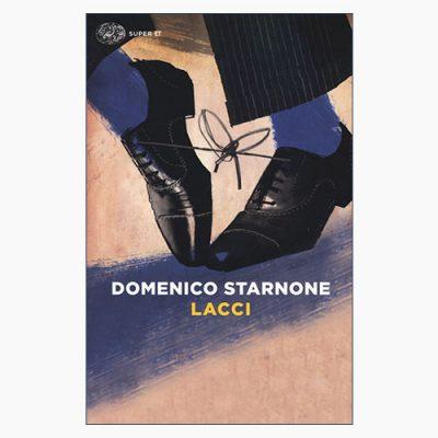 """La copertina del libro """"Lacci"""" di Domenico Starnone (Einaudi)"""
