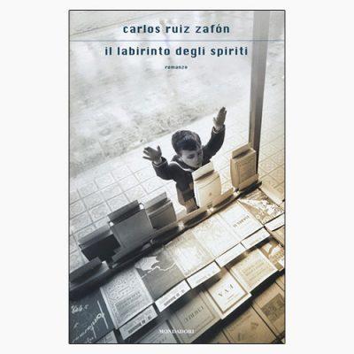 """La copertina del libro """"Il labirinto degli spiriti"""" di Carlos Ruiz Zafón (Mondadori)"""