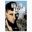 """La copertina del libro """"Valzer con Bashir"""" di Ari Folman e David Polonsky (Rizzoli)"""