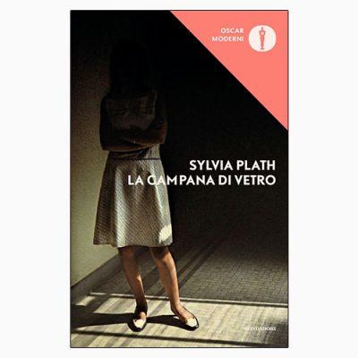 """La copertina del libro """"La campana di vetro"""" di Sylvia Plath (Mondadori)"""