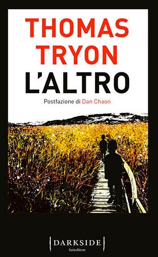 """La copertina del libro """"L'altro"""" di Thomas Tryon (Fazi  Editore)"""