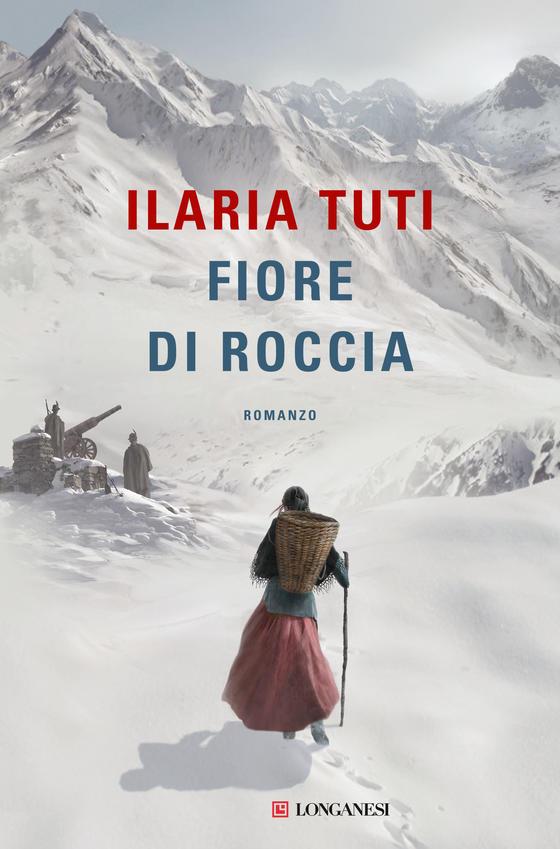 """La copertina del romanzo storico """"Fiore di roccia"""" (Longanesi)"""