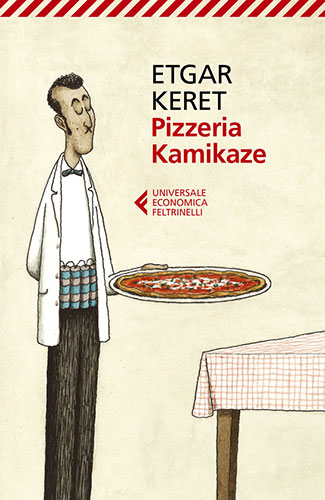 "La copertina del libro ""Pizzeria Kamikaze"" di Etgar Keret (Feltrinelli)"