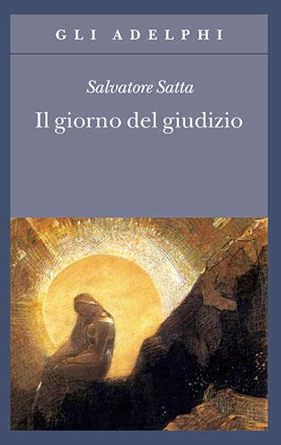 """La copertina del libro """"Il giorno del giudizio"""" di Salvatore Satta (Adelphi)"""