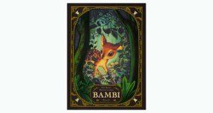 """La copertina del libro """"Bambi"""" di Felix Salten e Benjamin Lacombe (Rizzoli)"""